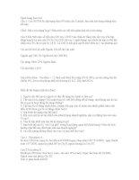Đề thi tín dụng ngân hàng liên việt bank 2011