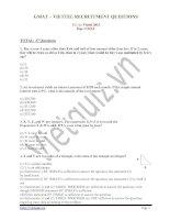Đề thi GMAT VIETTEL 2013 (có đáp án)