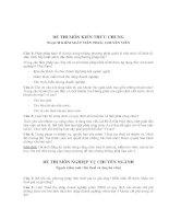 Bộ đề thi công chức thuế