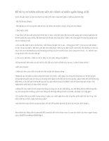 Đề thi vị trí nhân viên tư vấn tài chính cá nhân ngân hàng ACB