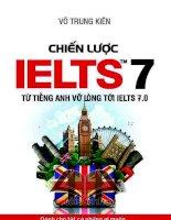 Chiến lược IELTS từ mới bắt đầu tới band 7 overall