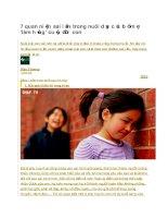 7 quan niệm sai lầm trong nuôi dạy của bố mẹ làm hỏng cuộc đời con