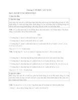 tổ hợp  chỉnh hợp và xác suất ( toan 11 chương 2)