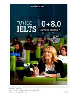 Tự học IELTS lên 8.0 cho dân khối A
