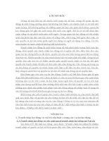 Tiểu luận kỹ năng luật sư trong vụ án lao động  những vấn đề lý luận và thực tiễn