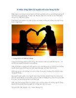 8 hiệu ứng tâm lý tuyệt vời của lòng từ bi