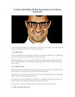 9 cách lười biếng để làm bạn trông có vẻ thông minh hơn