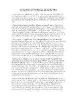 10 sự thật gây bất ngờ về sự từ chối