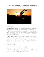 13 cách lòng biết ơn sẽ cải thiện đáng kể cuộc sống của bạn