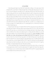 Luận văn quy chế pháp lý về bảo đảm tiền vay và thực tiễn áp dụng tại chi nhánh ngân hàng NHNoPTNT (agribank) láng hạ
