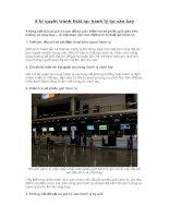 8 bí quyết tránh thất lạc hành lý tại sân bay