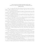 NGÂN HÀNG CÂU HỎI THI CÔNG CHỨC 2013 LĨNH VỰC CHUYÊN NGÀNH: QUẢN LÝ KHOÁNG SẢN (Phần thi viết)