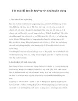 9 bí mật để tạo ấn tượng với nhà tuyển dụng