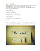 HÃY cười lên