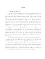 GIẢI QUYẾT VIỆC làm CHO LAO ĐỘNG NÔNG NGHIỆP TRONG QUÁ TRÌNH đô THỊ hóa ở nước TA HIỆN NAY