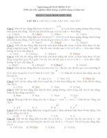928 câu trắc nghiệm dao động cơ   có phân dạng và đáp án