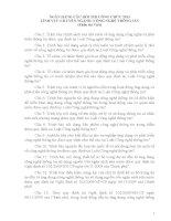 NGÂN HÀNG CÂU HỎI THI CÔNG CHỨC LĨNH VỰC CHUYÊN NGÀNH CÔNG NGHỆ THÔNG TIN