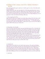KHÔNG còn e NGẠI THUYẾT TRÌNH TRONG 9 bước