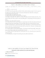 Đề cương ôn thi TN THPT môn toán lớp 12   chi tiết