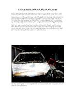 9 bí kíp thoát thân khi xảy ra hỏa hoạn