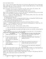phân dạng bài tập hóa học lớp 8 nâng cao