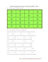 Ôn luyện Violympic toán lớp 5