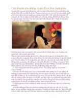 7 lời khuyên cho những cô gái để có được hạnh phúc