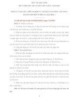ĐỀ CƯƠNG ÔN THI TUYỂN VIÊN CHỨC NĂM 2014  PHẦN LÝ THUYẾT: MÔN NGHIỆP VỤ NGÀNH TÀI CHÍNH  KẾ TOÁN (DÀNH CHO ĐỐI TƯỢNG LÀ ĐẠI HỌC )
