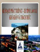 Kế hoạch phát triển KTXH tỉnh Lào Cai