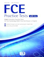 FCE practice tests with keys