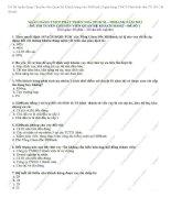 Đề thi tuyển dụng chuyên viên quan hệ khách hàng vào HDBank 2012