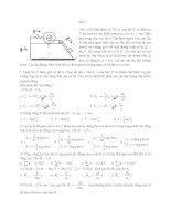 Đề thi cơ lý thuyết