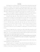 TỔNG hợp, cấu tạo CHẤT PHỨC CHẤT của một số KIM LOẠI CHUYỂN TIẾP (fe, zn, cs, la, y) với PHỐI tử là dẫn XUẤT mới  của QUINOLIN