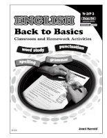 English back to basic quyển 2 luyện phát âm