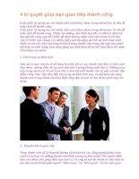 4 bí quyết giúp bạn giao tiếp thành công