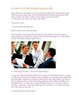 10 cách xử lý tình huống trong giao tiếp