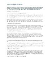 10 câu cửa MIỆNG của sếp tồi