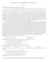 Bộ đề luyện thi THPT quốc gia môn tiếng anh ( moon.vn )