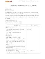 Giáo án Tự nhiên xã hội 3 bài 8