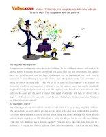 Bé học Tiếng Anh qua truyện: The magician and the parrot