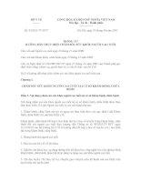 Thông tư 35/2011/TT-BYT hướng dẫn thực hiện chăm sóc sức khỏe người cao tuổi