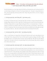 7 cách luyện nghe tiếng anh hiệu quả nhất