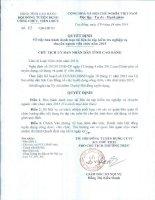 tài liệu ôn tuyển viên chức tỉnh cao bằng năm 2015
