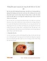 Những điều quan trọng mẹ nào cũng cần nhớ khi con vừa chào đời