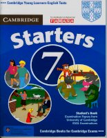 Tests starters 7 book
