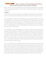 Đề thi IELTS Writing Task 2 ngày 16/04/2016