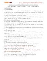 Bài tập Vật lý lớp 10 chương 7: Chất rắn, chất lỏng, sự chuyển thể
