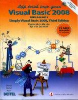 Lập trình trực quan Visual Basic 2008 – Phiên bản lần 3
