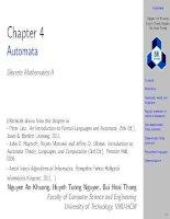 DM2 Chapter 4  automata BK TPHCM