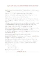10 NGUYÊN tắc làm bài TRONG TOEIC cực kì HIỆU QUẢ